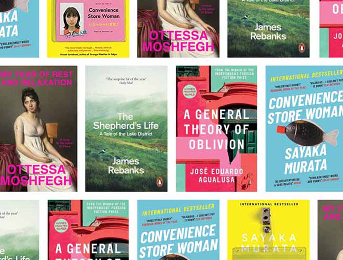 book covers montage