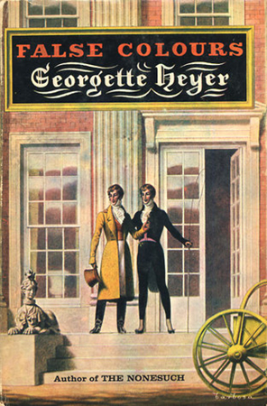 Cover of False Colours by Georgette Heyer