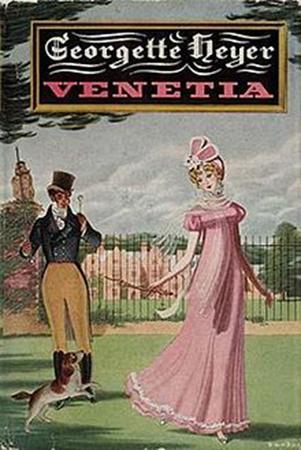 Cover of Venetia by Georgette Heyer