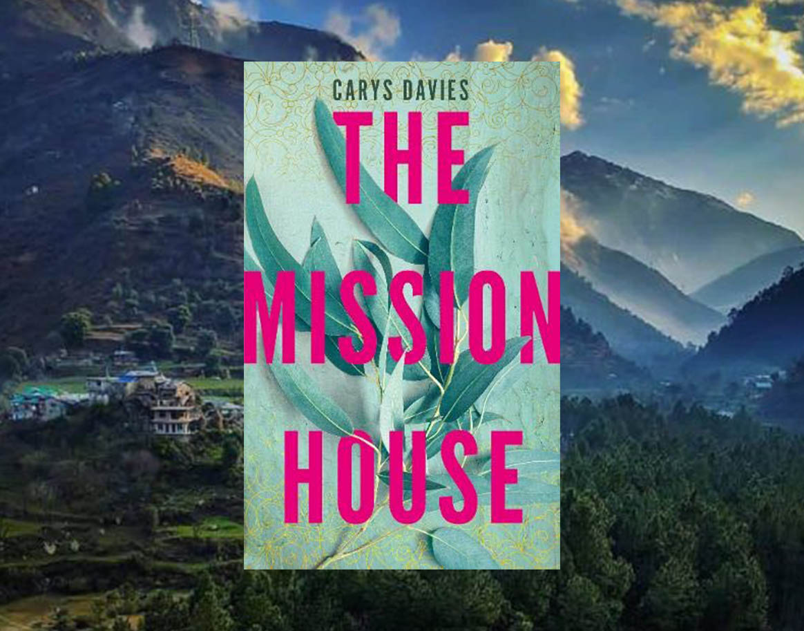 Book cover of The Mission House to illustrate book review