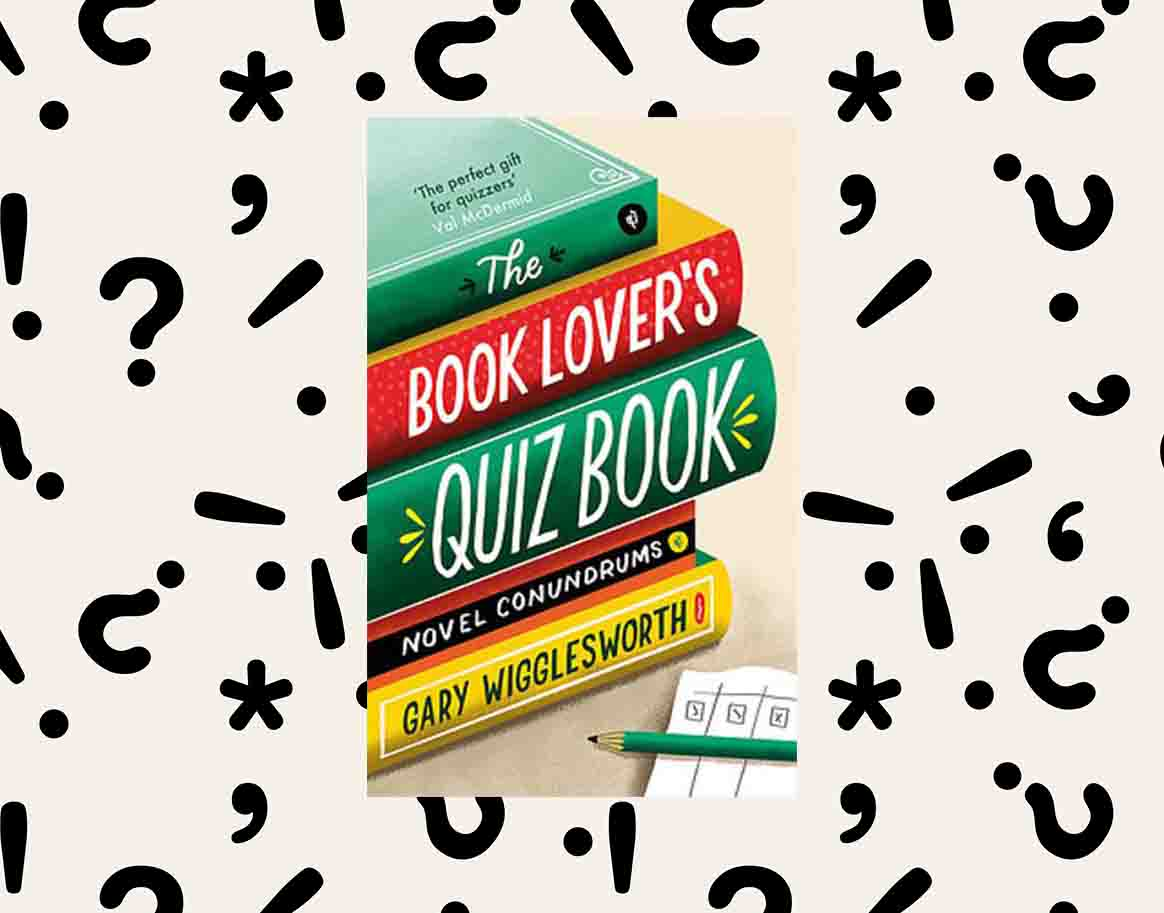 cover of The Book Lover's Quiz Book by Gary Wigglesworth