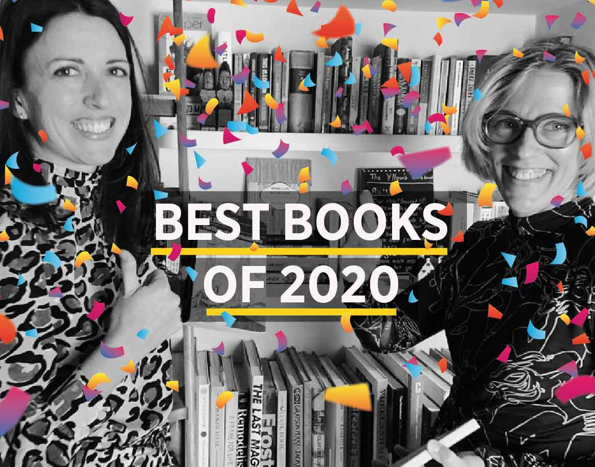 Picture of podcast hosts Kate and Laura to illustrate best books of 2020 text