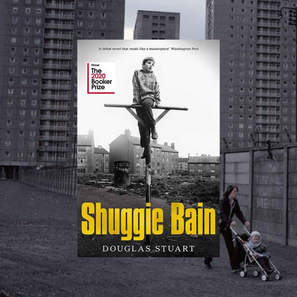 Cover of Shuggie Bain book by Douglas Stuart