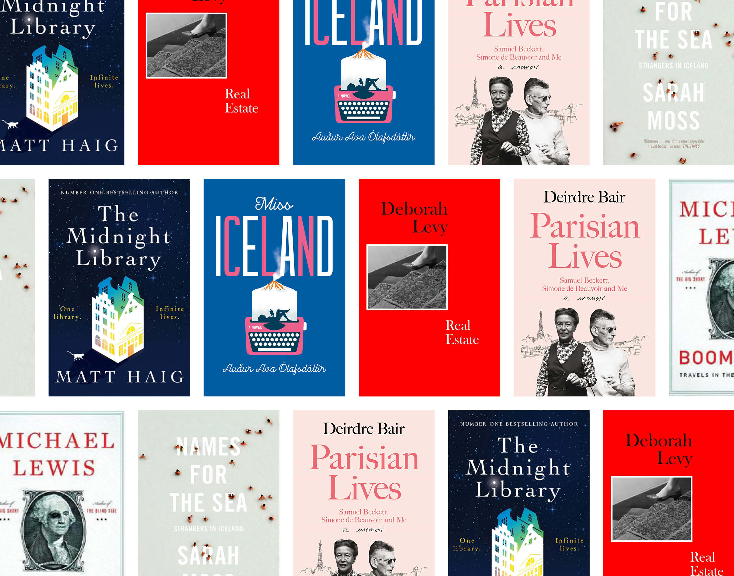 montage of book covers