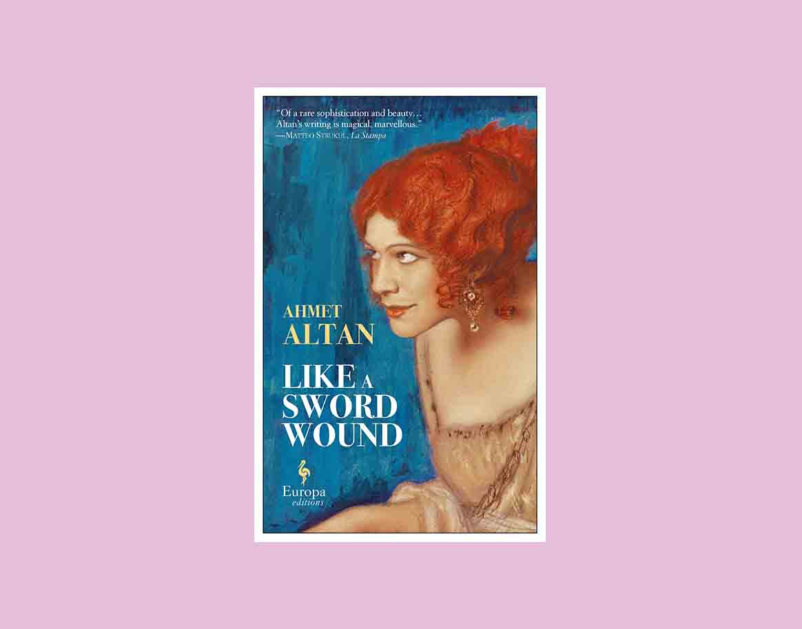 Like A Sword Wound by Ahmet Altan book cover
