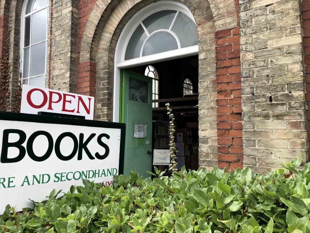 Chapel books Westleton entrance