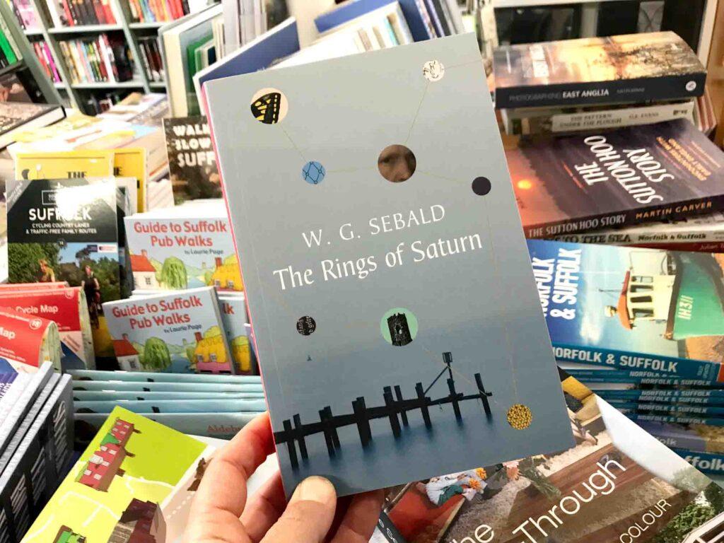 Rings of Saturn W. G. Sebald book cover