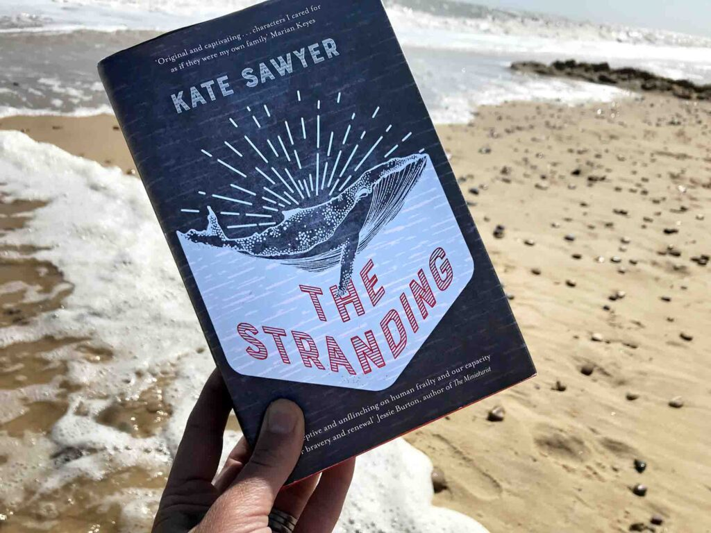 The Stranding Kate Sawyer book cover