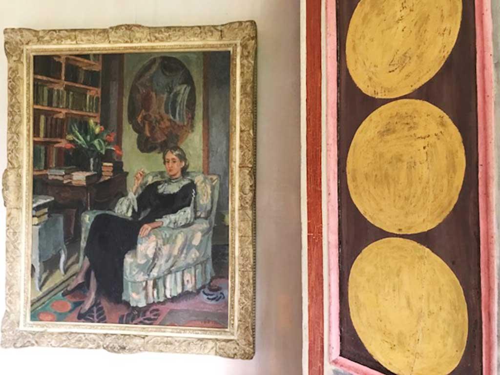 portrait of Virginia Woolf by Vanessa Bell