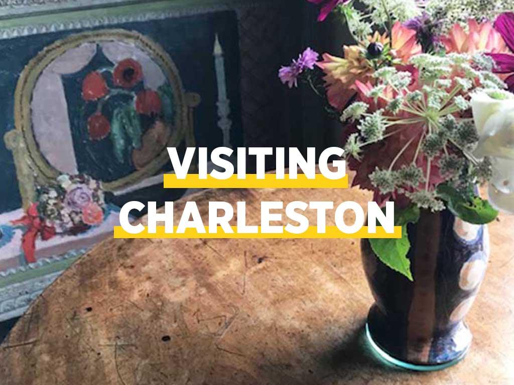 visiting Charleston house
